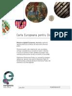 Public Domain Charter - Romanian