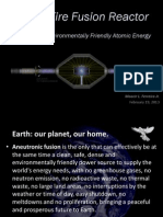 Nuclear Fusion Reactor - Eco-friendly Atomic Energy