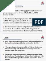 Unix Level -0 1