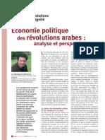 Economie Politique-Révolutions-Arabes