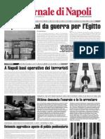 A Napoli basi operative dei terroristi