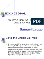 NOKIA E5 E-MAIL