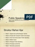 Public Speaking - Presentation1