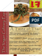 Vegan Culinary Experience (Thai)