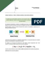 Lectura Formula y Reacciones Quimicas