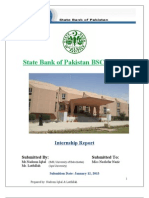 Internship Report on State Bank of Pakistan