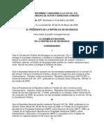 Ley de Reformas y Adiciones a La Ley No 312