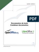 Documentos de texto. Combinar documentos (OpenOffice.org y LibreOffice)