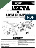 Gazeta de Arta Politica - Februarie 2013