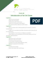 Curso de Tai Chi Chuan