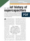 Brief History of Supercapacitors