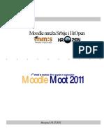WeB Serbia Moodle Moot 2011 - Program