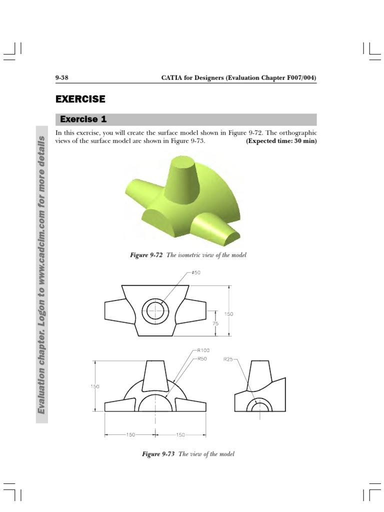 exercise catia pdf