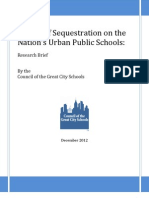 Sequestration Research Brief