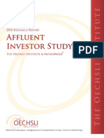 2010 Oechsli Institute - Affluent Research