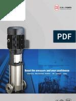 Vertical Multistage Pumps 50Hz