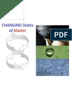 changing states of matter