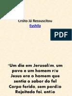 Cristo Já Ressuscitou - Eyshila