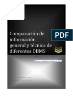 Comparacion Base de Datos