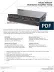 Atlona AT-HDCAT-4 Datasheet