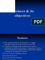 Business & Its Objectives