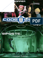 Projet Hopper - Code Lyoko Tome 2 - Riposte [PREVIEW]