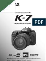 Pentax K-7 ITA
