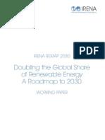 Irena Remap 2030 Working Paper