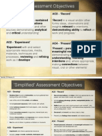 Assessment Objectives and Top Tips 2