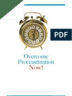 Overcome Procrastination Now