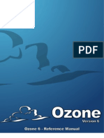 Ozone 6 Reference Manual