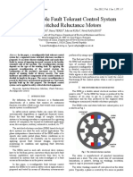 Reconfigurable Fault Tolerant Control System for Switched Reluctance Motors