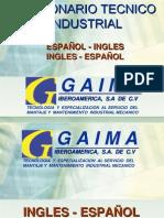 Diccionario Tecnico Industrial. Ing-esp