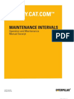 CAT G3516  Generator Maintenance Manual