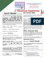 Week 25-Newsletter.doc