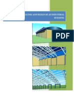 Structural Analysis and Design of an Industrial Building