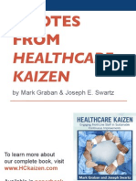 "Quotes from ""Healthcare Kaizen"""