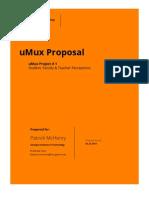 uMux Proposal