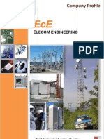 Elecom Engineering - Company Profile - 2010 - Telecommunication _With Few Pages