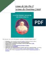 Catecismo Maior de Sao Pio X