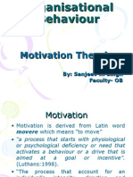OB Motivation Theories