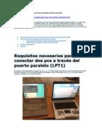 Conectar 2 PCs Con Cable Paralelo