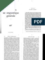 Benveniste (1966) La Nature Des Pronoms