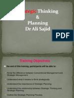 Strategic Thinking & Planning