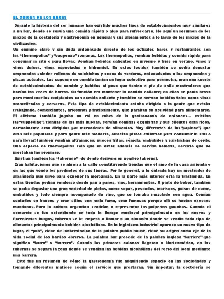 Dorable Reanudar Para La Coctelería Imágenes - Ejemplo De Colección ...