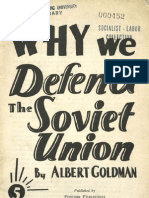 Why We Defend the Soviet Union