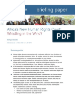 African s New Human Rights Court