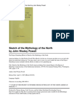 Sketch of the Mythology of the North