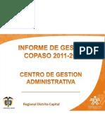 informe gestion copaso cga 2011-2012