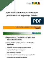 Políticas de formação e valorização